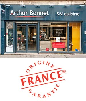 Arthur Bonnet SN Cuisine label origine France