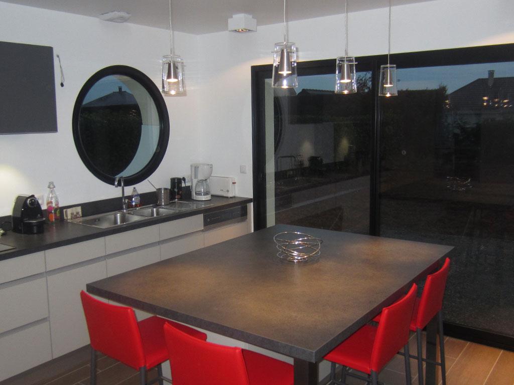 am nagement de cuisines quip es et plan de travail rouen. Black Bedroom Furniture Sets. Home Design Ideas